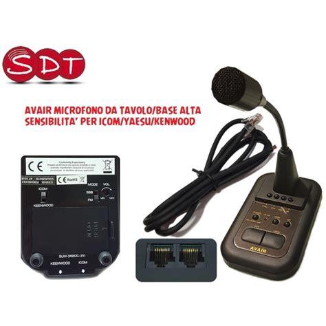 microfono da tavolo avair av 508 microfono da tavolo base alta sensibilita