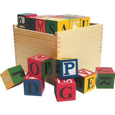 large wooden blocks large wooden abc blocks children s toys lehman s
