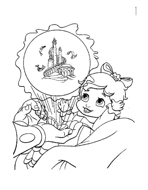 the little mermaid coloring pages melody the little mermaid 2 baby melody coloring pages www