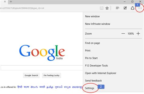Change Address On Search How To Use Search In Microsoft Edge S Address Bar