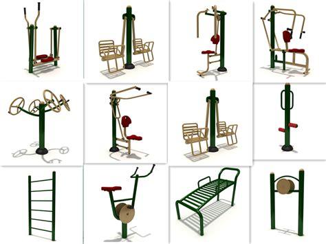 outdoor equipment garden fitness equipment