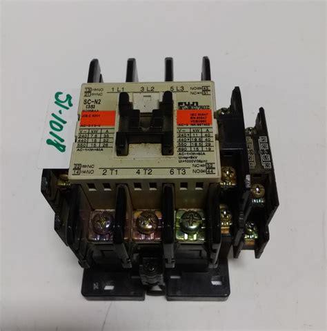 Contactor Fuji Sc N1 fuji contactor sc n2 sc35baa ebay