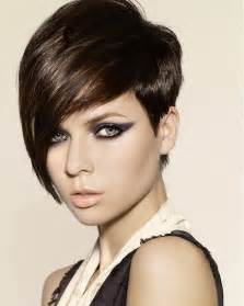 2012 hair trend of short haircut with long bangs more fashionable