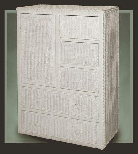 white wicker armoire dressers wicker drawers wicker dressers