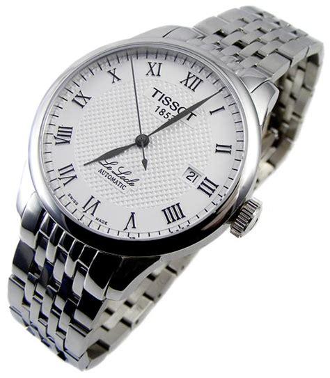 Tissot Le Locle T41 1 483 52 100 Authentic s watches tissot le locle ultra 25 jewels automatique mecanique masterpiece last one