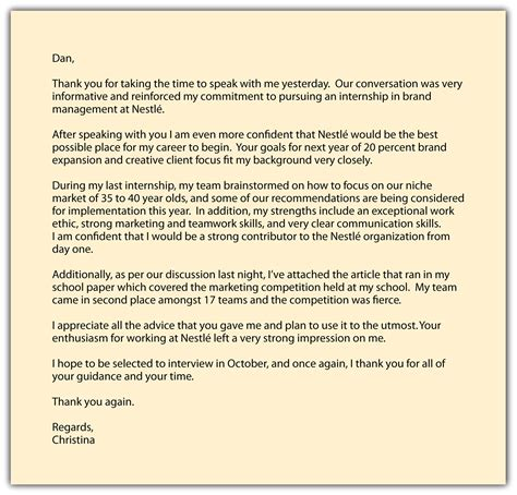 thank you letter after next steps follow up email to carnival cruise lines