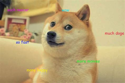 Doge Meme Car - reddit succeeds in bringing doge to nascar sbnation com