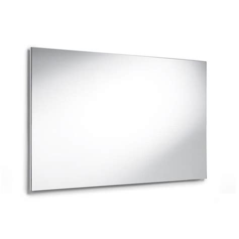 roca bathroom mirrors roca luna mirror 1200mm x 900mm 812191000