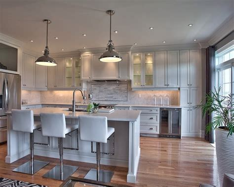 t shaped kitchen island pictures