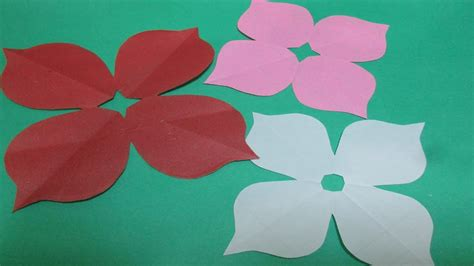 How To Make Paper Design - how to make simple easy paper cutting flower designs 2