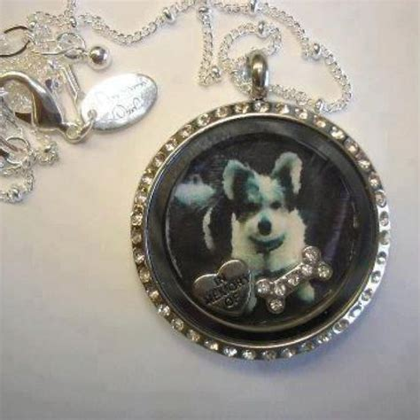 Locket Origami Owl - origami owl put a picture inside the locket in memory