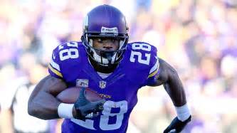 Adrian peterson outperforms todd gurley in vikings overtime win over