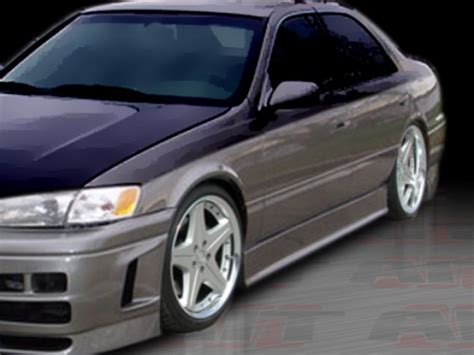 Toyota Camry Styles Evo3 Style Side Skirts For Toyota Camry 1997 2001