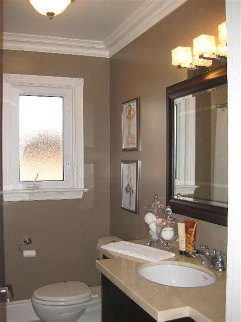 Taupe Colored Bathrooms by Taupe Bathroom Contemporary Bathroom Wallpaper