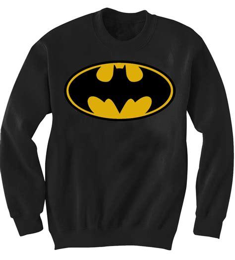 design hoodie with logo unisex crewneck sweatshirts batman logo design
