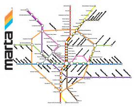 Atlanta Train Map by Atlanta Marta Train Map Related Keywords Amp Suggestions