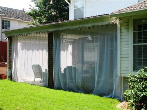 mosquito patio curtains outdoor mosquito netting curtains screen porch with