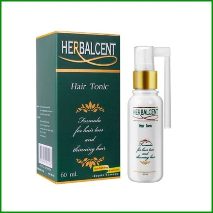 Hair Tonic Herbal herbalcent hair tonic 60 ml thailand best selling products