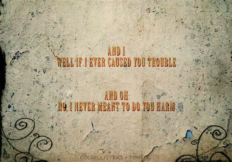 coldplay trouble lyrics coldplay lyrics
