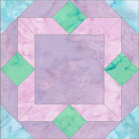 pattern for quilting frame picture frame paper piece foundation quilting block pattern