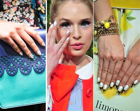 summer pedicure colors 2014 spring summer 2014 nail polish trends fashionisers