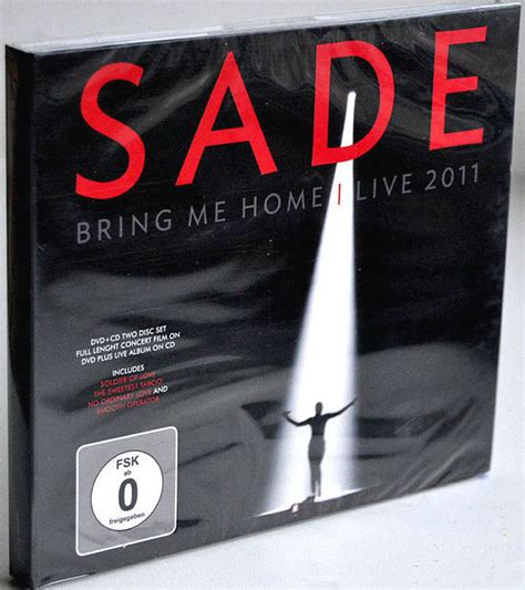 sade bring me home live 2011 cd album at discogs