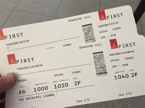 emirates boarding pass report emirates a380 first class jfk to dubai cloud