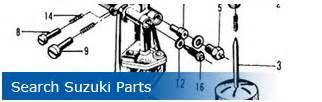 Suzuki Parts House Quadrunner Atv Parts Suzuki Quadrunner Oem Apparel