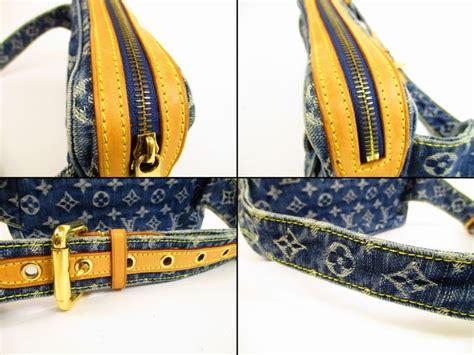Louis Vuitton Denim Bum Bag by Louis Vuitton Monogram Denim Blue Waist Packs Bum