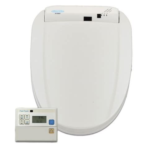 Toilet Seat Washing System Hometech Feel Fresh Hi 6000 White Bidet Washing Toilet