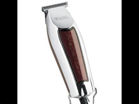 wahl trimmer tutorial wahl t wide 5 stars burgundy detailer unboxing funnydog tv