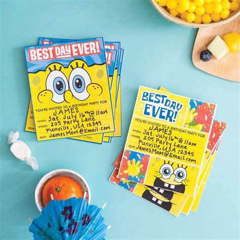 Party Decorations To Make At Home plan a spongebob squarepants party nickelodeon parents