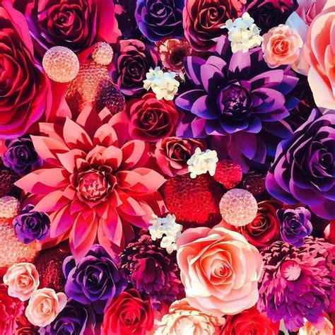 Realistic Wall Murals stunning paper flower mural artworks fubiz media