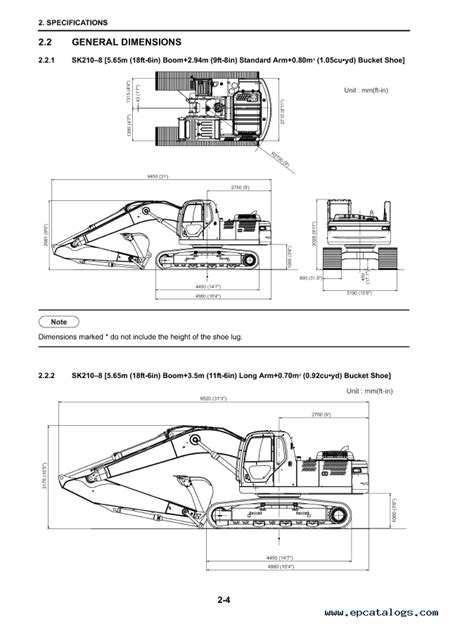 Kobelco SK210-8 ACERA MARK 8 Tier III Excavator PDF Manual