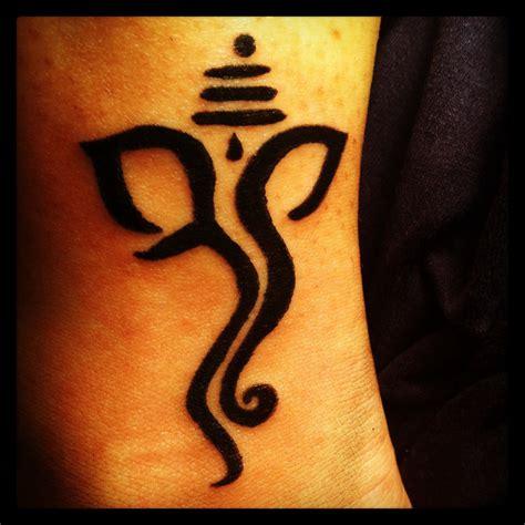ganesha tattoo on neck my ganesh tattoo photos made by me