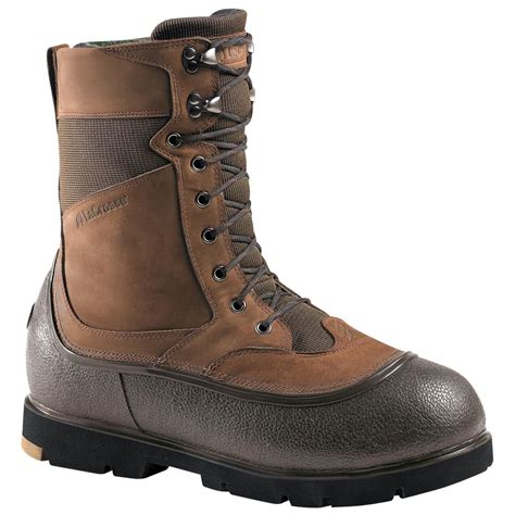 s lacrosse 174 10 quot alpha iceman boots brown 129969