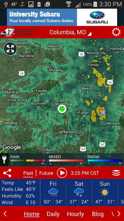 abc 17 weather abc 17 stormtrack weather app android apps on google play