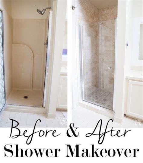 bathroom shower makeovers master bath shower makeover shower doors shower