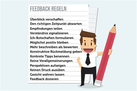 Positive Bewertung Schreiben by Feedback Geben Regeln Beispiele Tipps Karrierebibel De