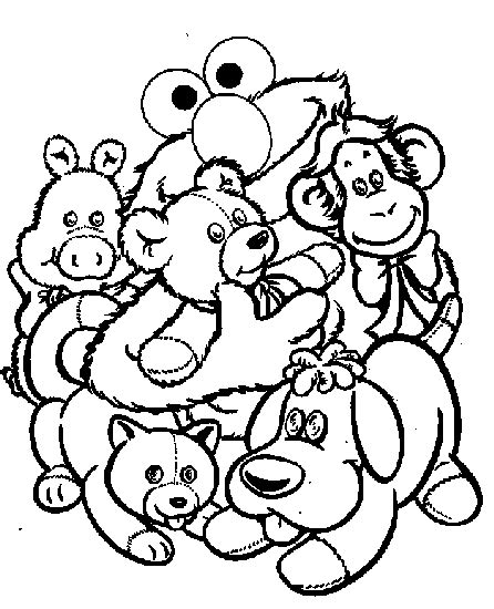 ty stuffed animals coloring pages coloring pages