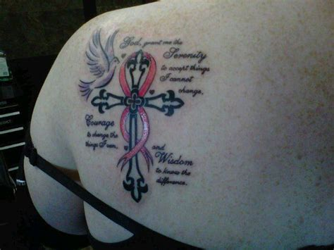 tattoo quotes grandmother my serenity prayer tattoo my grandmother died of breast