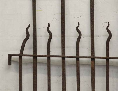 wrought iron fence sections speared wrought iron fence section olde good things