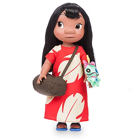Cute Figurines by Disney Animators Collection Lilo Doll 16