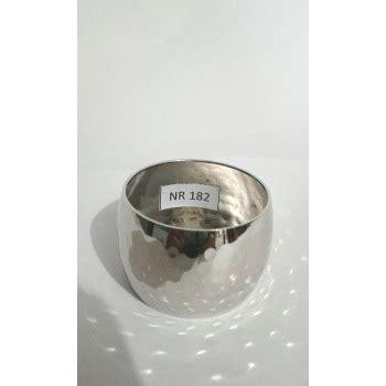 Alumunium Napkin Ring aluminium material hammered napkin ring manufacturer in