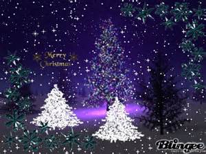 sparkly christmas trees animated pictures for sharing