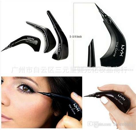 Eyeliner The Curve Nyx nyx the curve eyeliner liquid eyeliner pencil felt tip