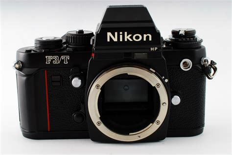 nikon f3 t titanium hp 35mm slr black ebay