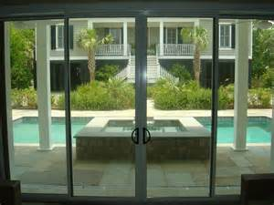 automatic glass sliding door modern interior applications and features of the sliding doors pro storm protection