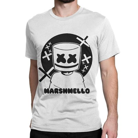 T Shirt Kaos Dj Marshmello 1 edm silly punter