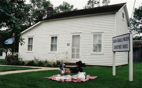 laura ingalls wilder house surveyors house the first home of the ingalls family in dakota territory photo